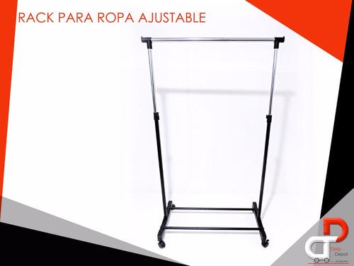 rack ajustable para colgar ropa