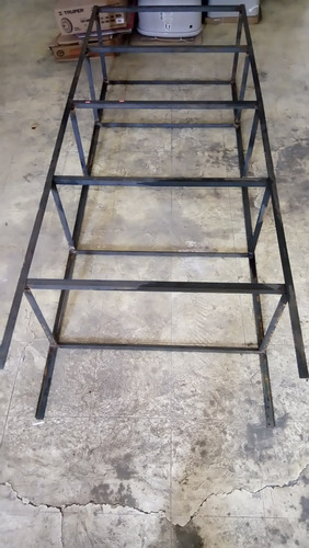 rack anaquel estante 5 niveles de fierro metalico