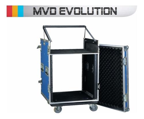 rack anvil 12 espacios con ruedas y elevador de mixer