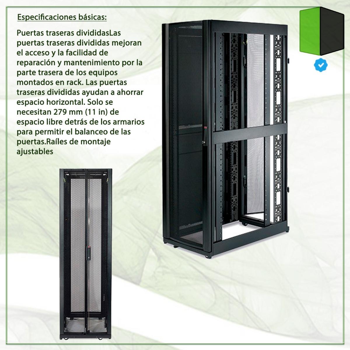 Rack Apc Ar3100 Netshelter Sx 42u 600mm Wide X 1070mm 11503697 Server Enclosure Cargando Zoom