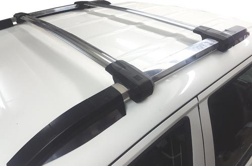 rack barras portaequipaje aluminio bepo p/ chevrolet s10