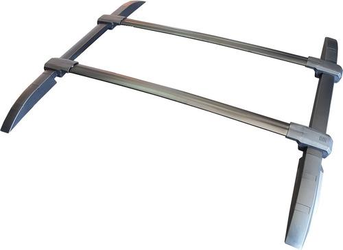 rack barras portaequipaje aluminio negras bepo chevrolet s10