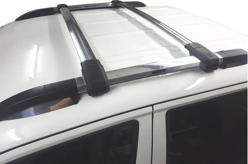 rack barras portaequipaje aluminio pulido bepo p/ vw amarok