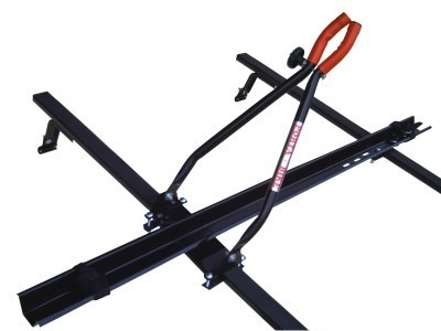 rack bike teto transbike p/ usar travessas do carro