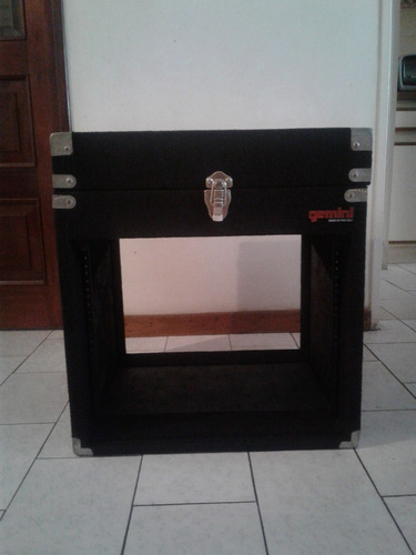 rack cajón de audio - dj - miniteca - sonido - gemini