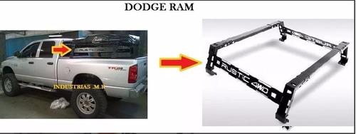 rack cajon rustic 4wd portacarpa todas las camionetas