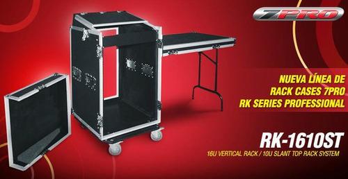 rack cases para equipos profesional rx-1610st en 220 verdes