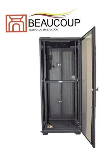 rack cerrado gabinete beaucoup i-1250-n 36ur 180x60x80cm
