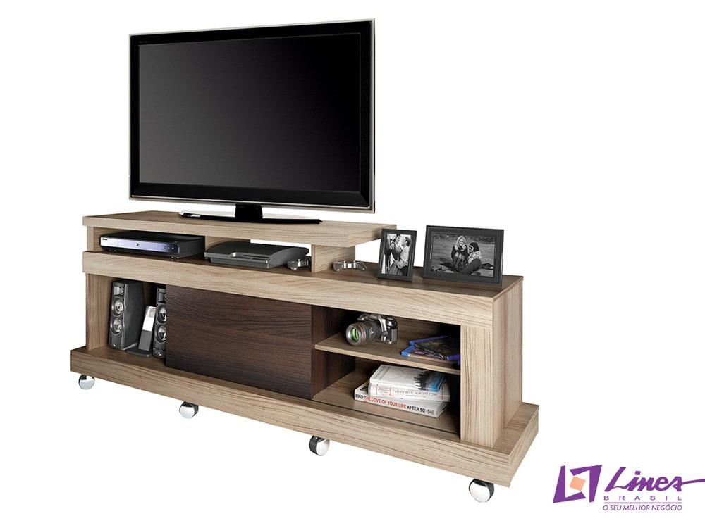 Rack com painel para sala de tv modelo dallas r 430 00 - Modelos de estores para salon ...