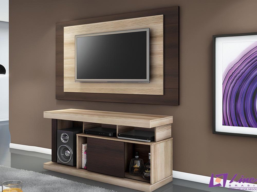 Rack com painel para sala de tv modelo quartzo r 320 00 for Modelos de modulares para sala