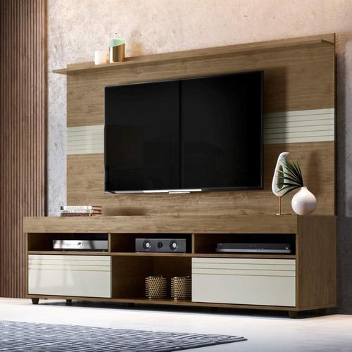 rack com painel para tv até 60 polegadas samba siena ibwt