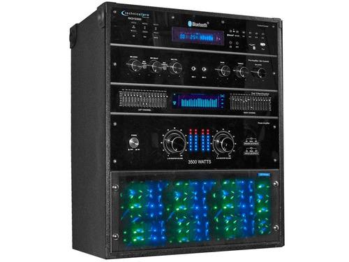 rack de audio professional 3500 watts rksys3500