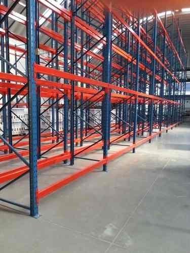 rack de carga industrial semi nuevo, estructural y laminado.