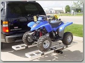 rack de carga para go-kart o 4-wheel