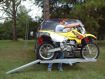 rack de carga para una motorcicleta