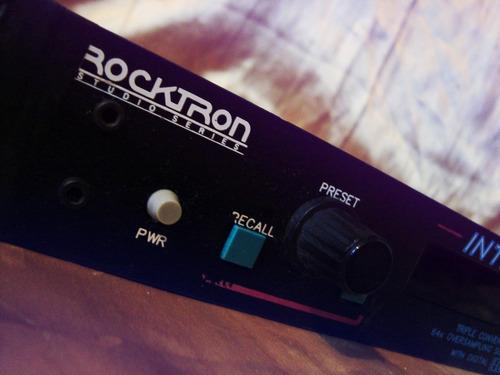 rack de efeitos rocktron intellifex blackface