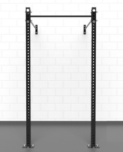 rack de pared para dominadas sentadillas crossfit