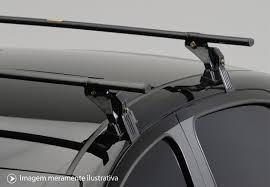 rack de teto corolla 1999 até 2012  preto - aço - eqmax 3250