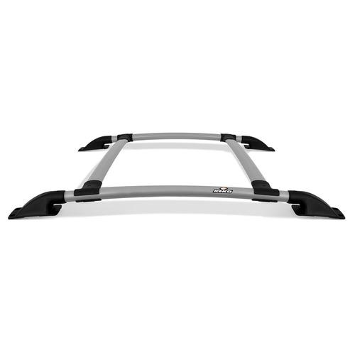 rack de teto keko novo palio 12 a 15 4 peças prata bagageiro