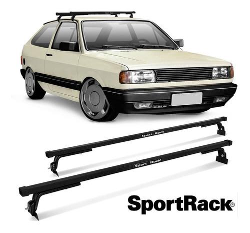 rack de teto sport rack garra baixa / carros com canaleta