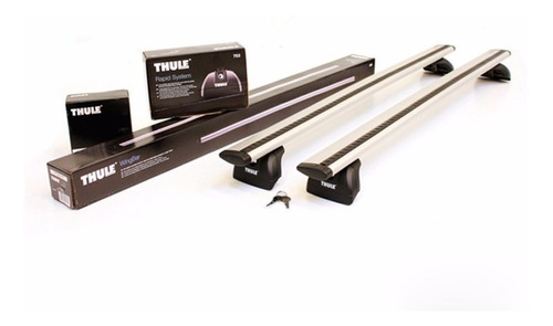 rack de teto thule mitsubishi asx com longarina integrada