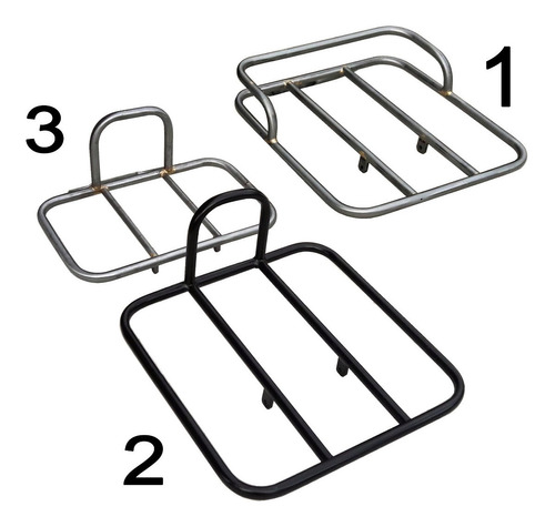 rack delantero porta paquetes fixie fixed cuotas sin interes