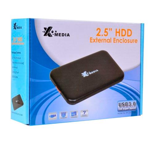 rack disco duro 2.5  cse-en-2251u3-bk