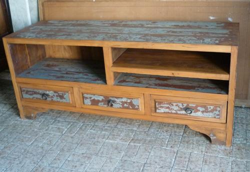 rack em madeira demolição antiga
