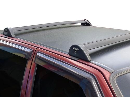 rack fiat uno 4 portas 1992 a 2013 modelo quadrado cor prata