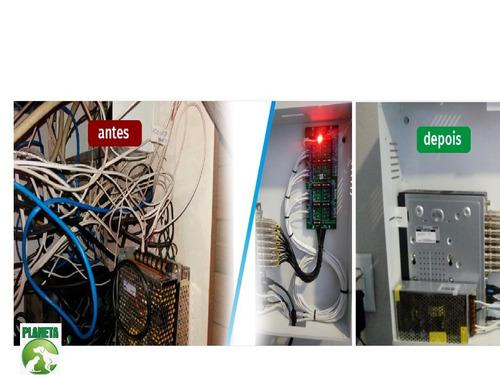 rack hd - organizador p/ cftv  mini orion 3000 16 ch hibrido