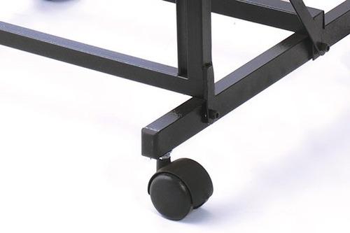 rack ibox rs70d porta mixer desmontável c/ regulagem de mesa