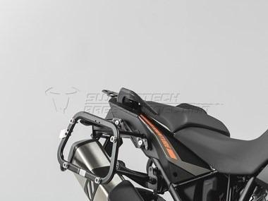 rack lateral  ktm1190,r con adaptado swmotech hecho alemania