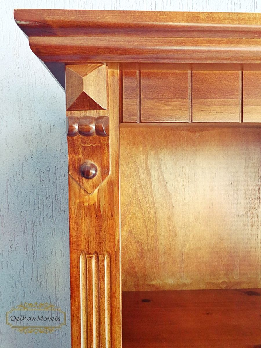 635a5fb40 rack madeira maciça portas prateleira vidro gaveta televisão. Carregando  zoom.