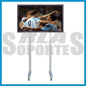 rack mesa pie led lcd tv karaoke 1.30-1.50 mts 20x20 cm expo