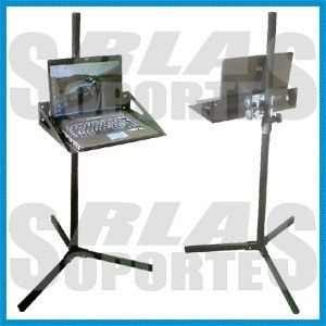 rack mesa pie para led lcd tv karaoke 1.50 mts 20x20 cm expo