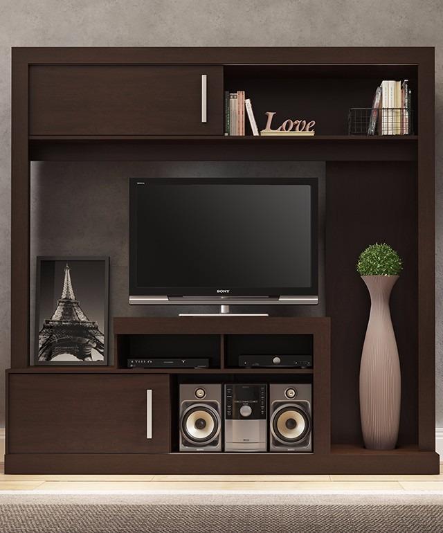 Rack mesa tv led lcd modular 2 puertas cer micas for Ceramicas castro