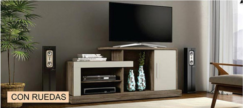 rack mesa tv modular modulares lcd led mueble comedor
