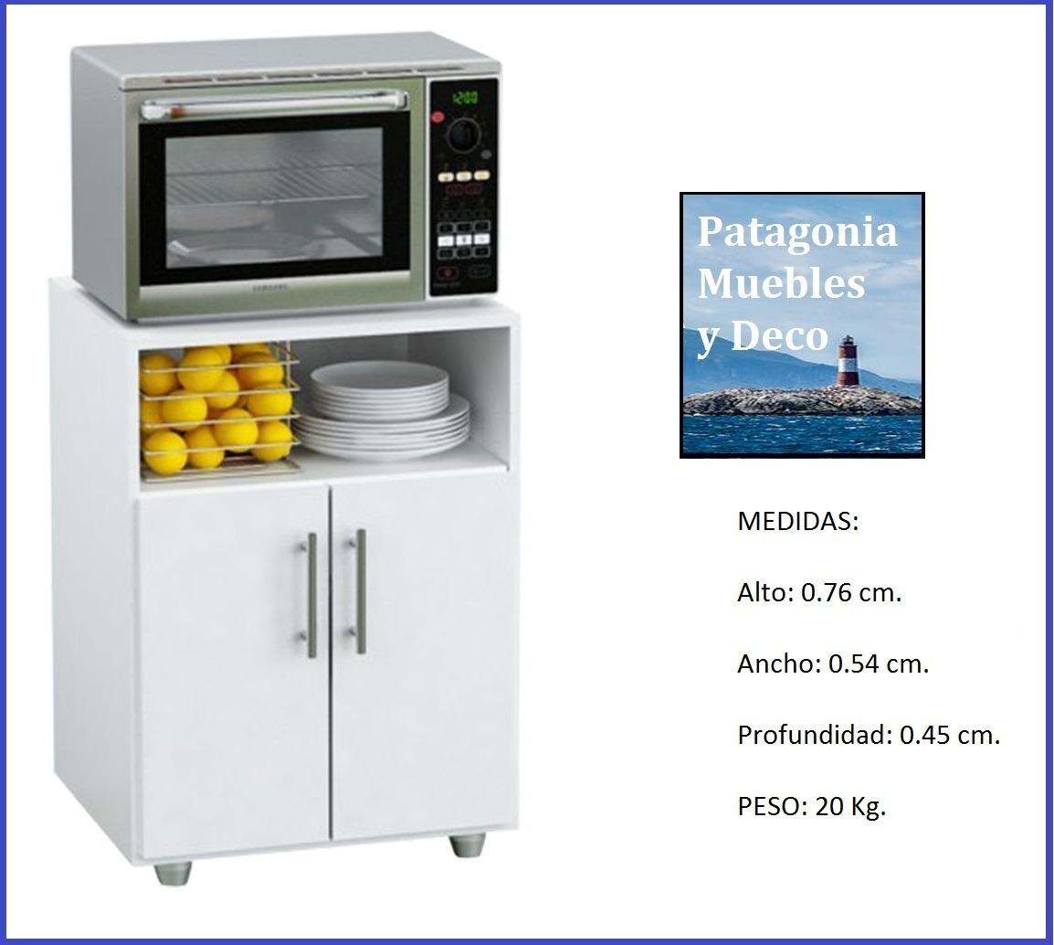 Rack Microondas Mueble Cocina Organizador G10 Centro Estant  # Muebles Centro Estant