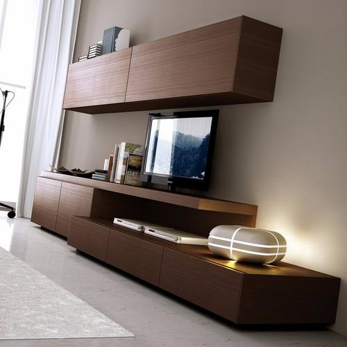 rack modular led mesa tv lcd mueble living comedor rack full