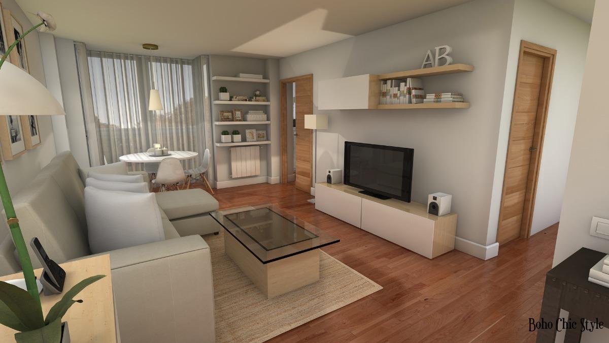 Rack Modular Led Mesa Tv Lcd Mueble Moderno Living Melamina  # Muebles Living Mercadolibre
