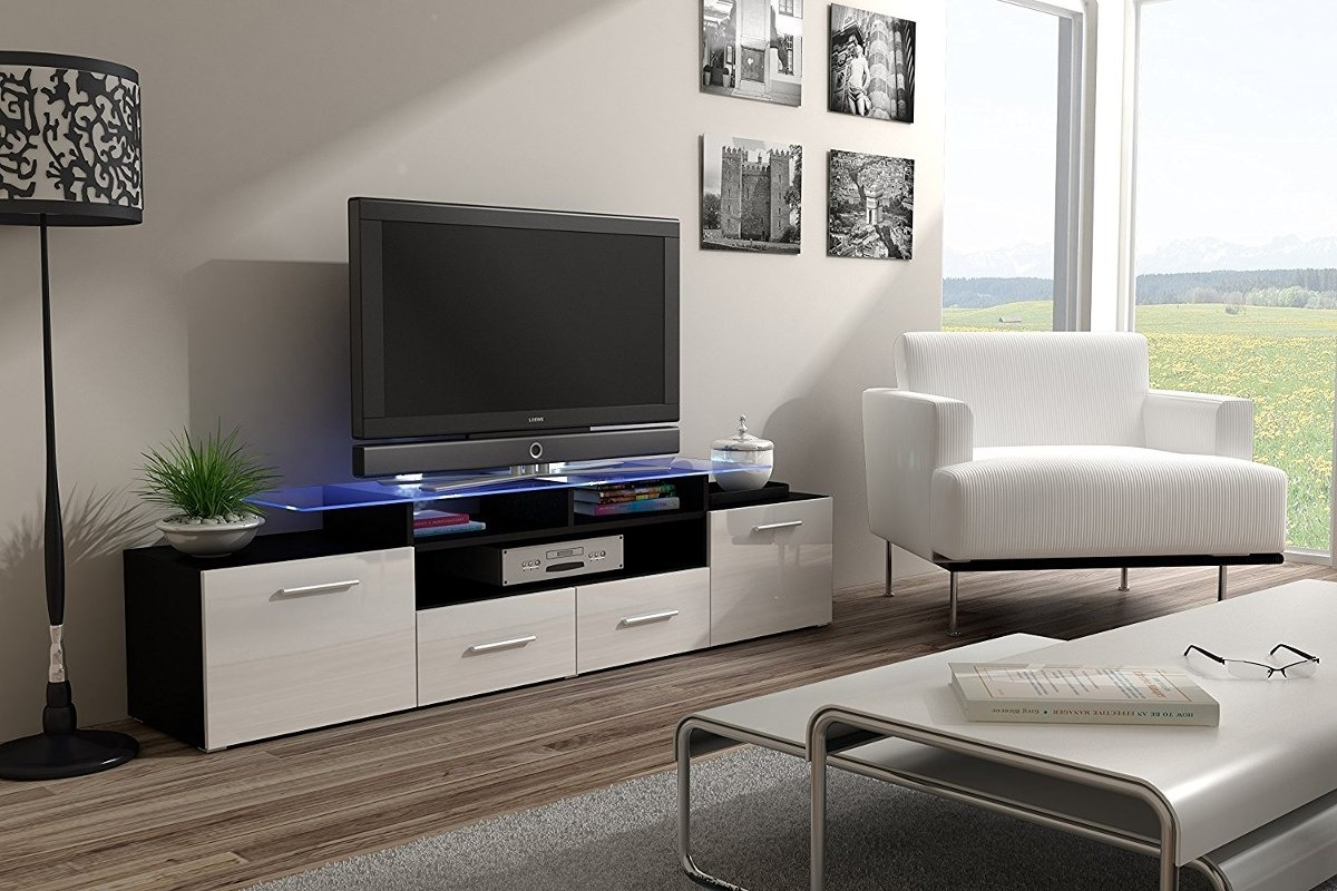 Rack Modular Mesa Sigma Led Tv Lcd Mueble Moderno 10 Off  # Fabrica De Muebles Vedia