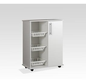 Rack Mueble Cocina Microondas Organizador Puerta Y Estante