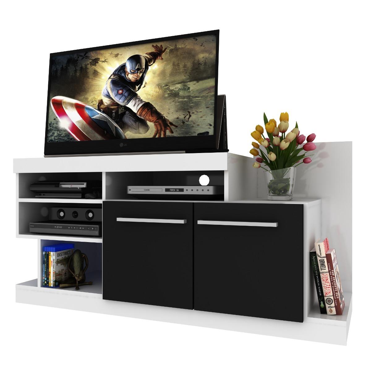 Rack mesa de tv lcd dvd mueble de comedor living for Mueble para dvd