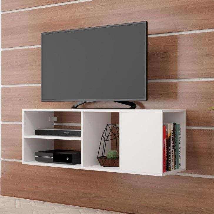 Rack Mueble Modular Flotante Moderno Módulo Para Tv Led Lcd