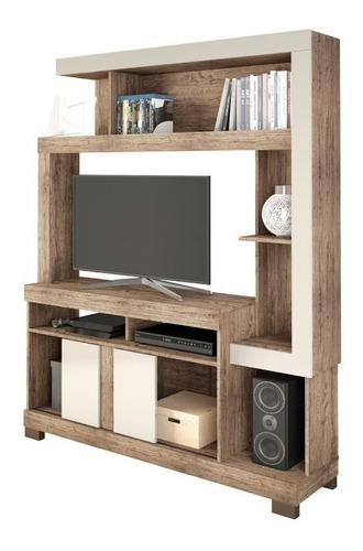 rack mueble tv led televisor living liz - dormire