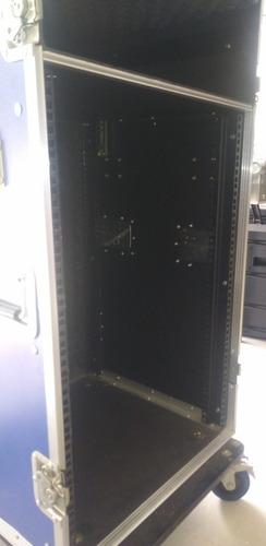 rack o case soundbarrier 16 y 12 espacio discplay mesa nuevo