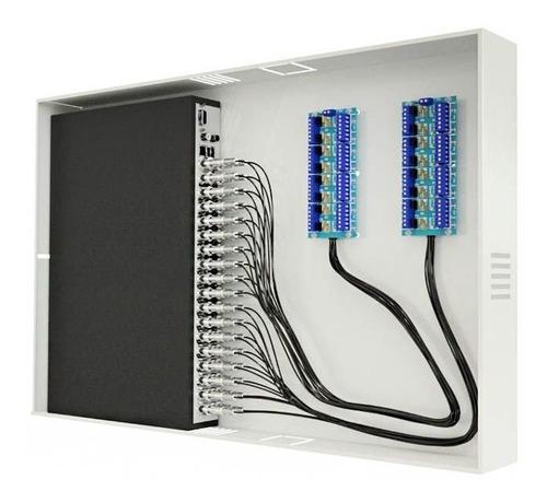 rack organizador mini orion hd 3000 hd e analógico 32 canais