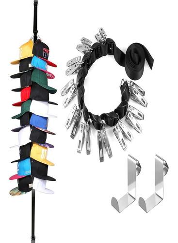 rack organizador para gorras de béisbol practico ajustable