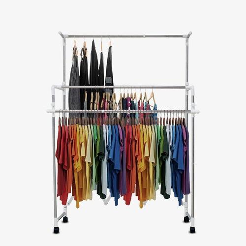 rack organizador ropa closet plegable tendedero simpler tv