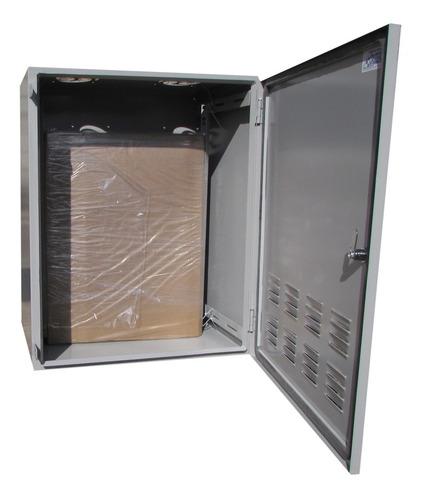rack outdoor telecom 14u com duas bandejas